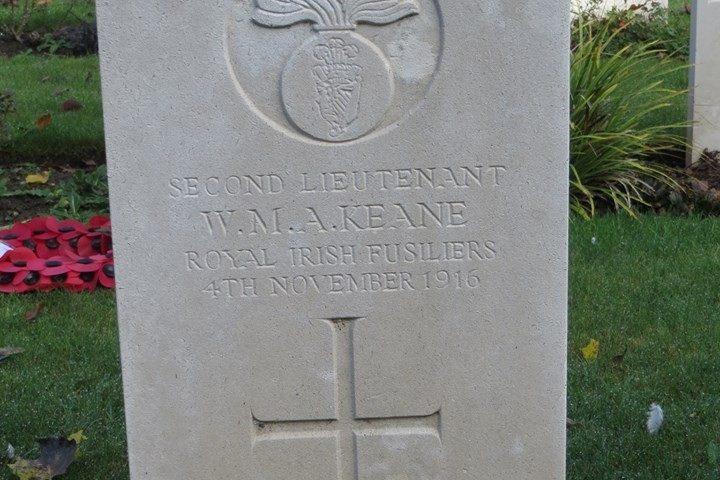 keane headstone